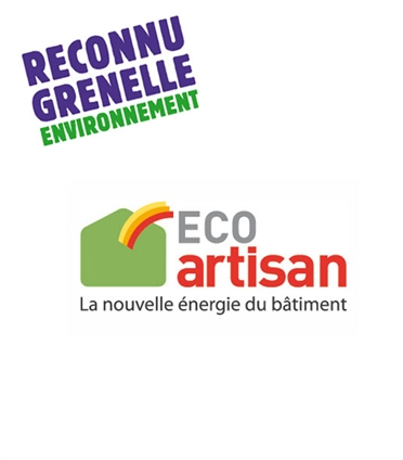 L'entreprise a obtenu la certification Eco Artisan pour vous faire bénéficiez de crédit d'impot sur vos travaux d'économie d'énergie