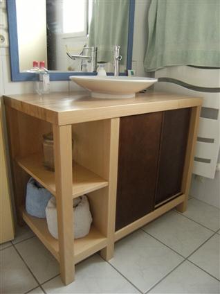 Meuble de salle de bains -