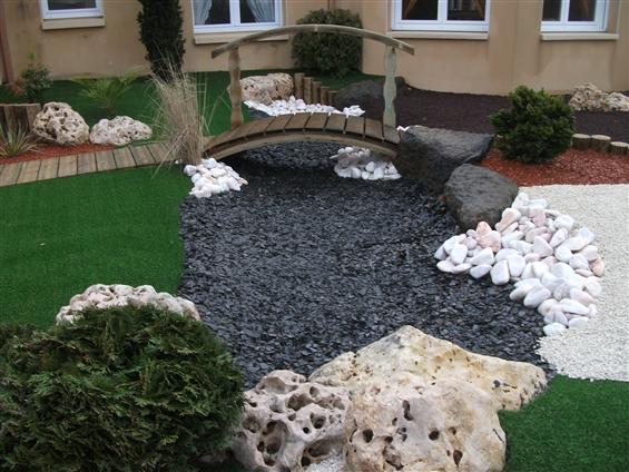 Jerome cheron paysage paysagiste pallet for Amenagement jardin mineral