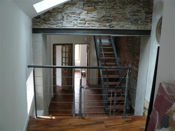 Escalier d'intérieur et garde-corps). Nantes (44000)