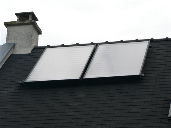 Capteurs solaires eau-chaude - 44240 LA CHAPELLE SUR ERDRE