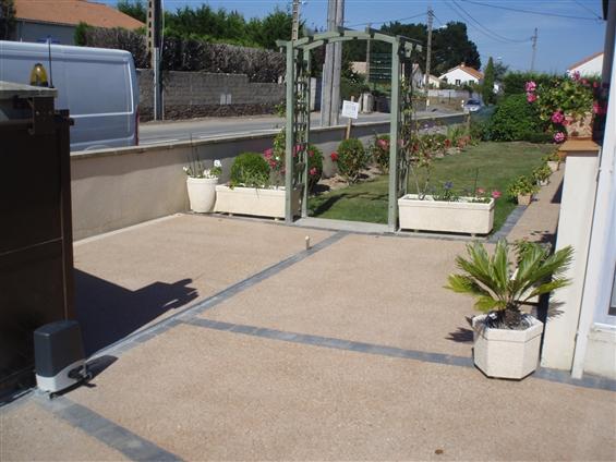 Terrasse Béton Décoratif à PORNIC 44210.