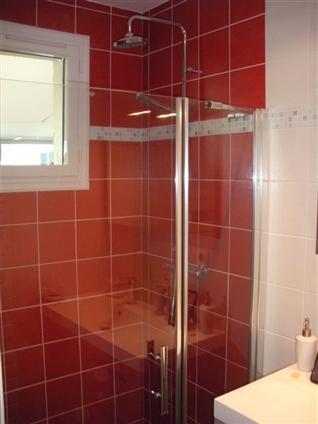 réalisation d'une douche à l'italienne par JCT, artisan basé à la Sicaudais, Arthon en Retz, 44 320