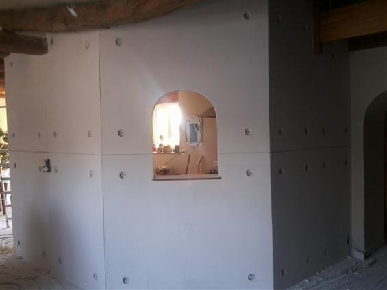 Réalisation d'un éffet beton banché