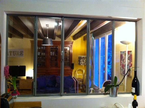 Cloison vitrée intérieure 44120 Vertou