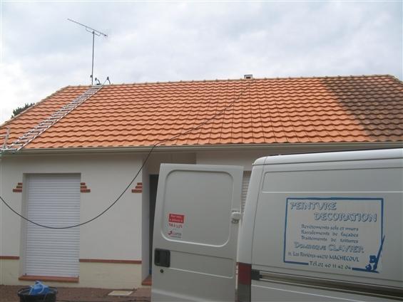 Nettoyage toiture - MACHECOUL 44270